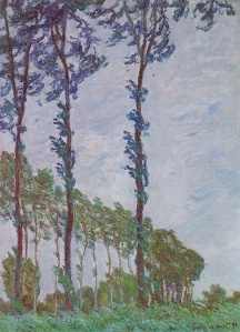 Poplars (Wind effect) Claude Monet 1891