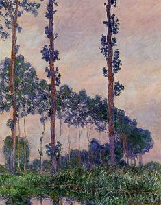 Three_Trees_in_Grey_Weather_1891_Claude_Monet